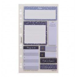 Stickers Sticky Notes A5 Indigo