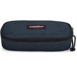 Astuccio Ovale Eastpack Blu Triple Denim 5x22x9