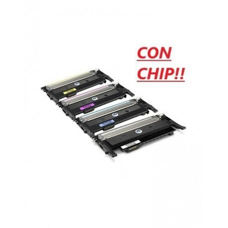 Toner Inkpiu per Hp W2073 Magenta con CHip 117A
