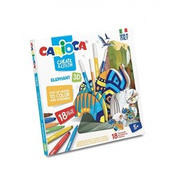 Carioca Create & color Elefante 3d