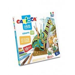 Carioca Create & color Giraffa 3d