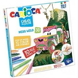 Carioca Create & Color Miss Wild