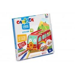 Carioca Create & Color Otto Mini Van