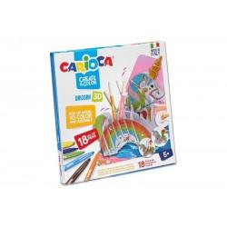 Carioca Create & color Unicorno 3d
