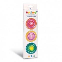25 Pastelli A Olio Primo Extra Soffice - Colori Brillanti
