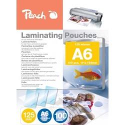 FOGLI X PLASTIFICATRICE A6 100 POUCHES PP525-04 125MIC