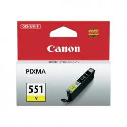 CARTUCCIA CANON CLI551 GIALLO 6511B001 ORIGINALE