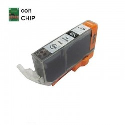 CARTUCCIA CANON COMPATIBILE CLI-526 BK NERO CON CHIP NON ORIGINALE