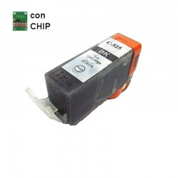 CARTUCCIA CANON COMPATIBILE PGI-525 BK NERO CON CHIP NON ORIGINALE