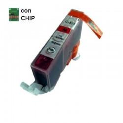 CARTUCCIA COMPATIBILE CANON CLI-521 MAGENTA CON CHIP INKPIU