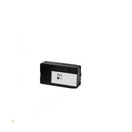 CARTUCCIA COMPATIBILE HP 711 NERO 80ML PIGMENTATO CZ133A