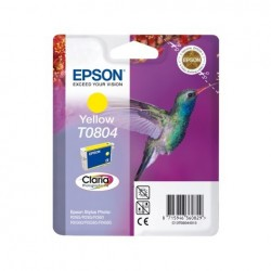 CARTUCCIA ORIGINALE EPSON C13T08044010 T0804 YELLOW