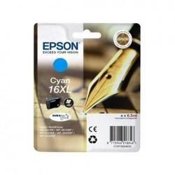 CARTUCCIA EPSON C13T16324010 T1632 CIANO XL ORIGINALE