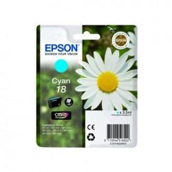 CARTUCCIA EPSON C13T18024010 T1802  CIANO ORIGINALE