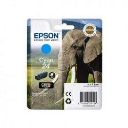 CARTUCCIA ORIGINALE EPSON C13T24224010 24 CIANO