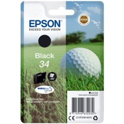 CARTUCCIA EPSON C13T34614010 T3461 BLACK ORIGINALE