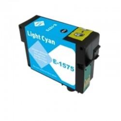 CARTUCCIA EPSON T1575 LIGHT CIANO COMPATIBILE NO OEM