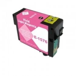 CARTUCCIA EPSON T1576 LIGHT MAGENTA COMPATIBILE NO OEM