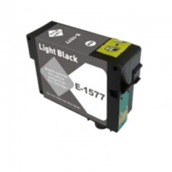 CARTUCCIA EPSON T1577 LIGHT BLACK COMPATIBILE NO OEM