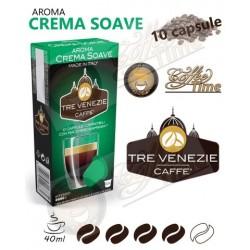 10 CAPSULE CAFFE' TRE VENEZIE NESPRESSO CREMA SOAVE