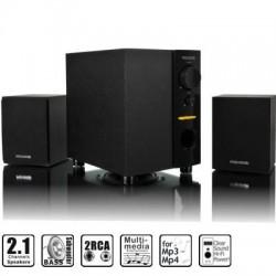 Casse audio 2.1 M109 10W Wimitech