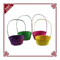 Cestino bambù con maniglia Pasqua