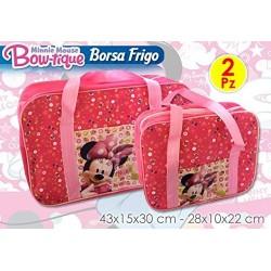 Coppia di Borse Termiche Minnie 24lt + 6lt Disney