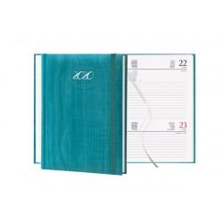 Agenda 2021 11X17 cm giornaliera tascabile con elastico Pastel - 6 Colori assortiti F03040