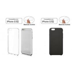 Custodia compatibile con iPhone 6/6s Morbida Trasparente