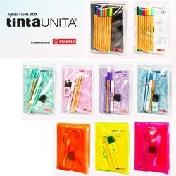 Diario Tinta Unita 2020 Copertina Led + Acc. Stabilo