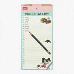 DON'T FORGET MAGNETIC NOTE-PAD - SHOPPING LIST