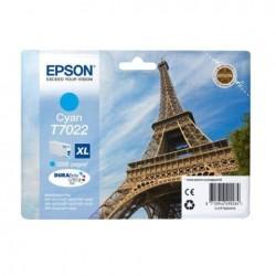 CARTUCCIA ORIGINALE EPSON C13T70224010 7022 XL CIANO