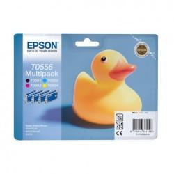 CARTUCCIA ORIGINALE EPSON C13T05564010 T0556 MULTIPACK BK-C-M-Y