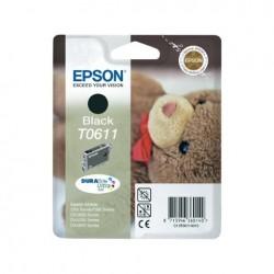 CARTUCCIA ORIGINALE EPSON C13T06114010 T0611 NERO
