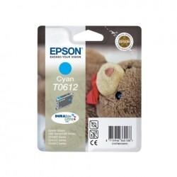 CARTUCCIA ORIGINALE EPSON C13T06124010 T0612 CIANO
