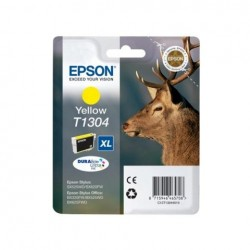 CARTUCCIA ORIGINALE EPSON C13T13044010 T1304 YELLOW