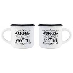 ESPRESSO FOR TWO - COFFEE MUG - COFFEE