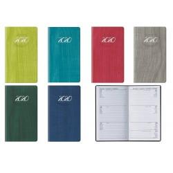 Agenda 2020 8X14 cm settimanale tascabile Pastel Mini - 6 Colori assortiti F03046