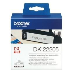 ETICHETTE BROTHER ROTOLO CONTINUO DK22205