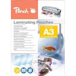 FOGLI X  PLASTIFICARE A3 25 FG. POUCHES PPR525-01 125MIC
