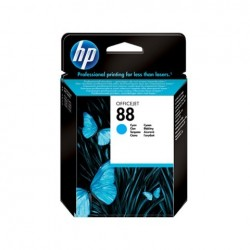 HP C9386AE INKJET N.88 CIANO ORIGINALE SCADUTA GARANTITA