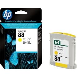 HP C9388AE N. 88 INK JET GIALLO ORIGINALE