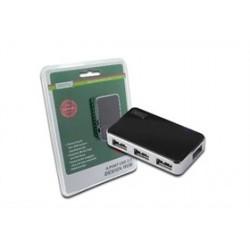 HUB USB 2.0 4 PORTE DIGITUS CON ALIMENTATORE DA-70220