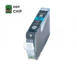 INKPIU CANON 8PC CON CHIP COMP