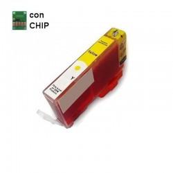 INKPIU HP N.364 YELLOW COMP. CON CHIP