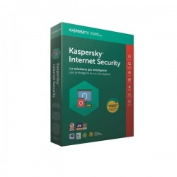 KASPERSKY INTERNET SECURITY 3 UTENTI 1 ANNO