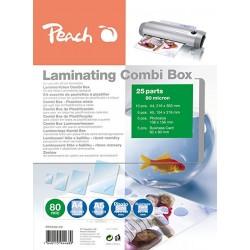 KIT COMBO BOX  PER PLASTIFICARE DA 25PZ STARTER PEACH PPC500-02