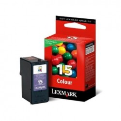 CARTUCCIA ORIGINALE LEXMARK  15 COLORE (18C2110E)