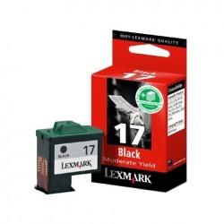 CARTUCCIA ORIGINALE LEXMARK 17 NERO 10N0017