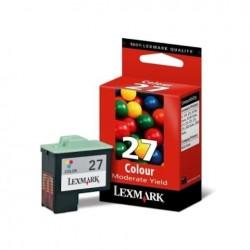 CARTUCCIA ORIGINALE LEXMARK 27 COLORE 10N0027